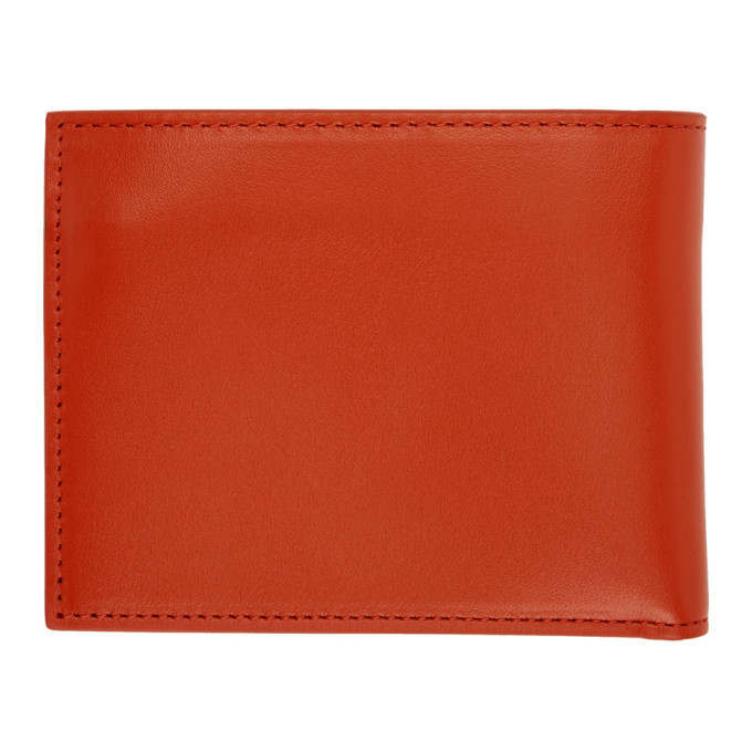 Off-White Orange Quote Bifold Wallet