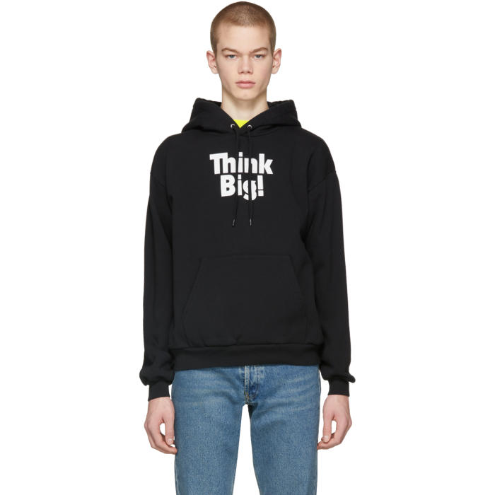 Photo: Balenciaga Black Think Big Hoodie
