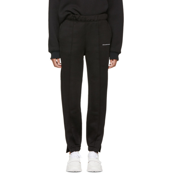 alexanderwang.t Black Heavy Sleek Pull-On Lounge Pants