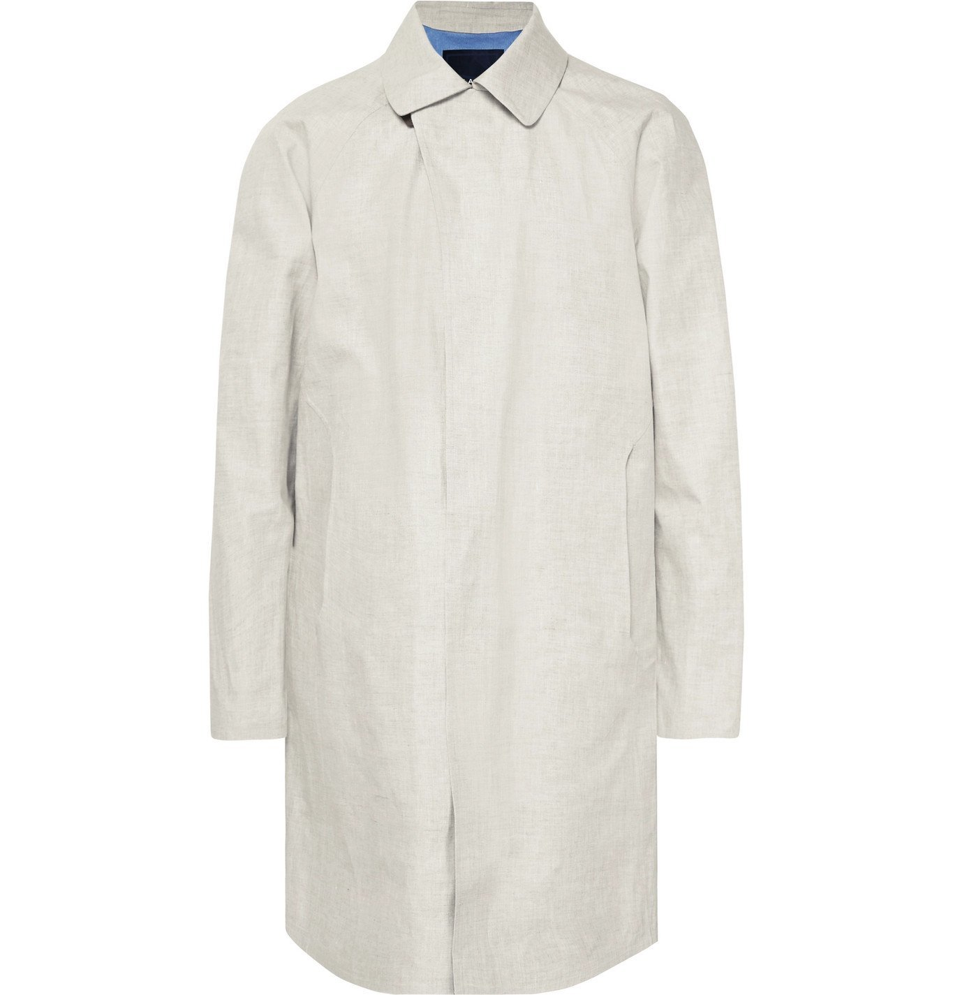 Photo: Sease - Lifetime Storm System Linen Trench Coat - Neutrals