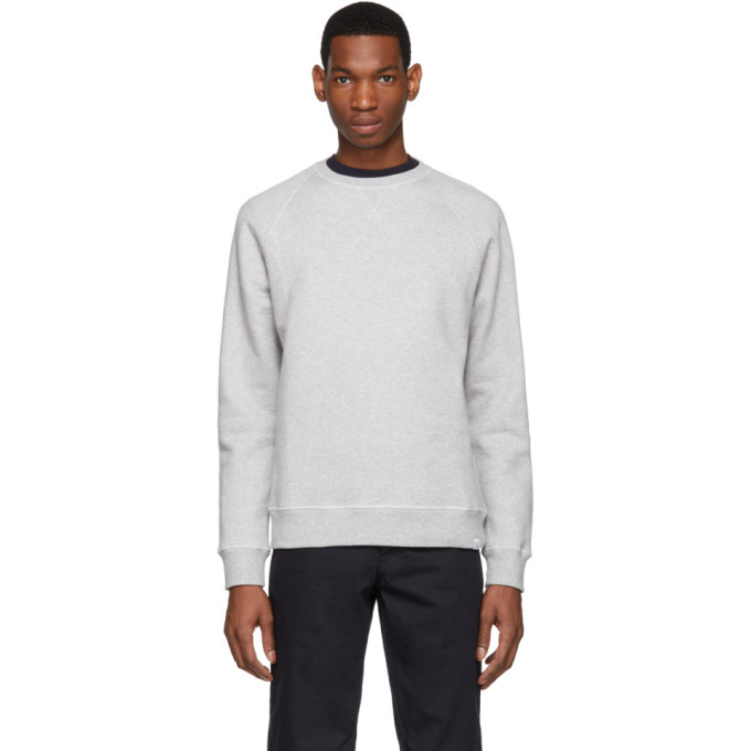 Photo: Norse Projects Grey Ketel Classic Crew Sweatshirt