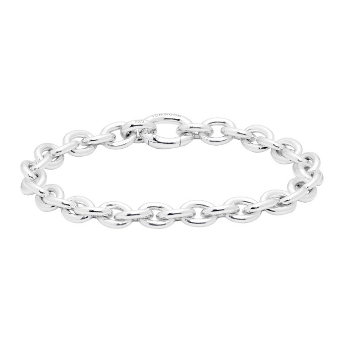 Photo: Tom Wood Silver Thick Ada Bracelet