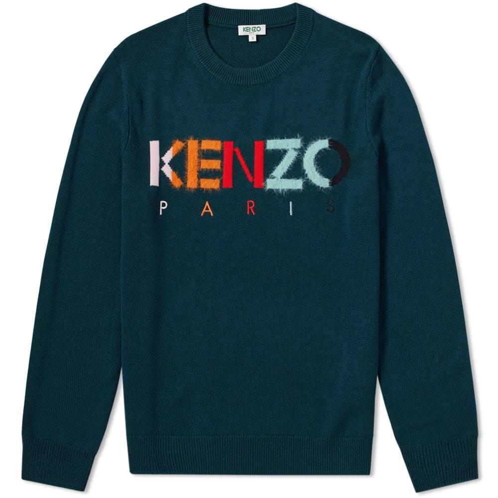 Photo: Kenzo Colour Paris Logo Knit