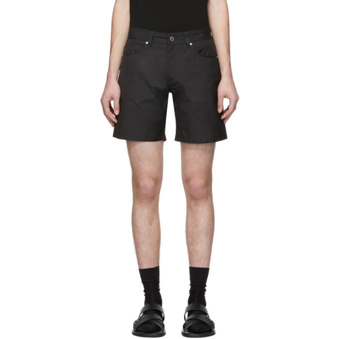Photo: Valentino Black Technical Twill Shorts