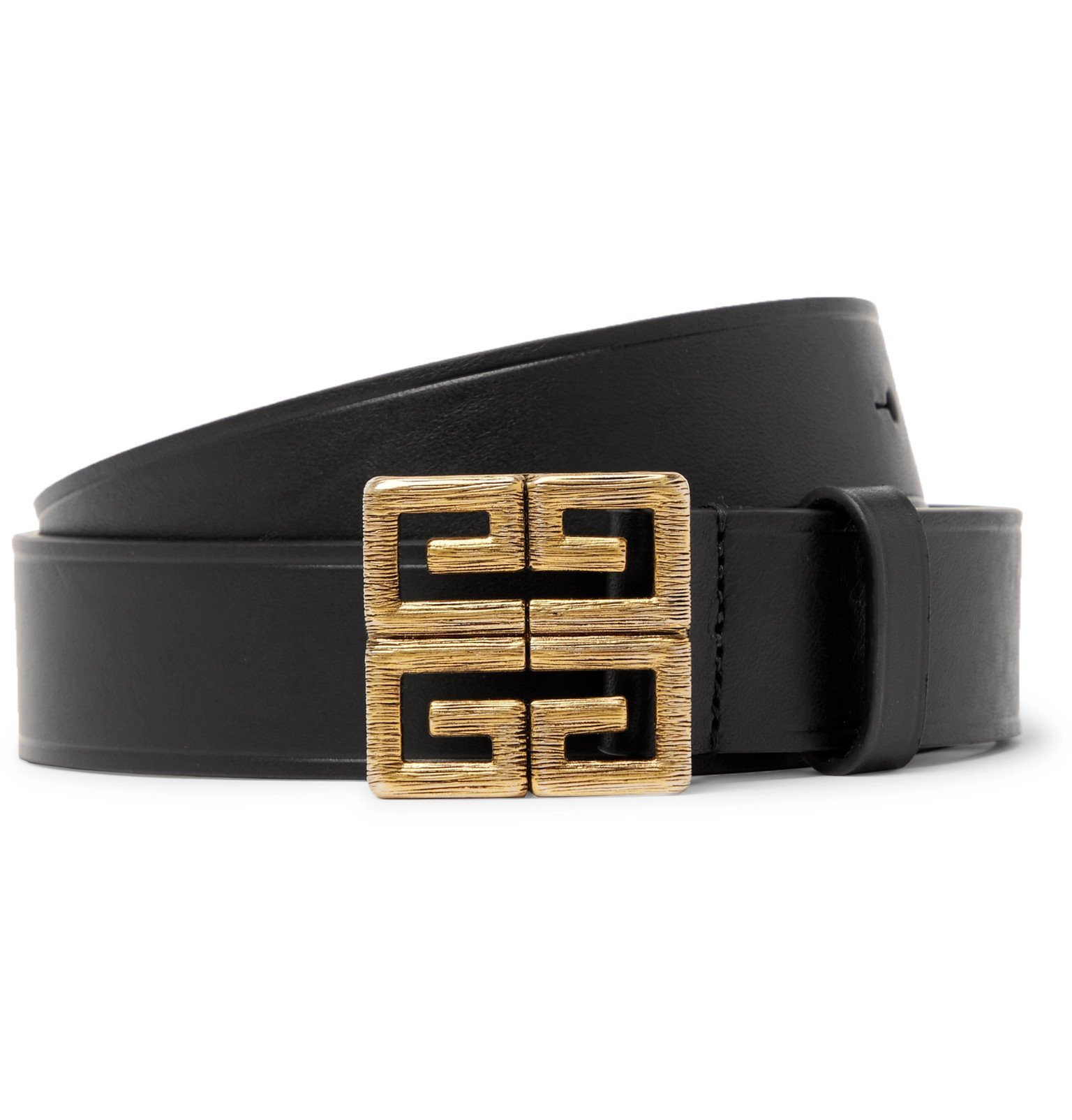 Photo: Givenchy - 3cm Black Leather Belt - Black