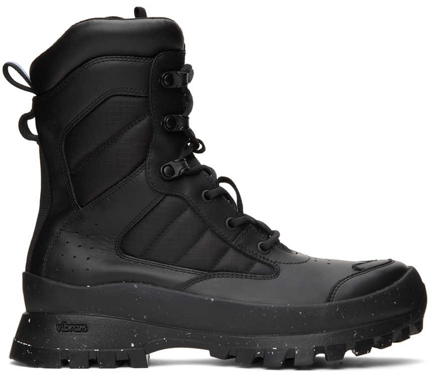 Photo: MCQ Black In-8 Tactical Boots