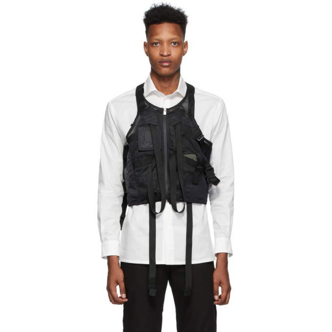 Photo: 1017 ALYX 9SM Black Mesh Tactical Vest