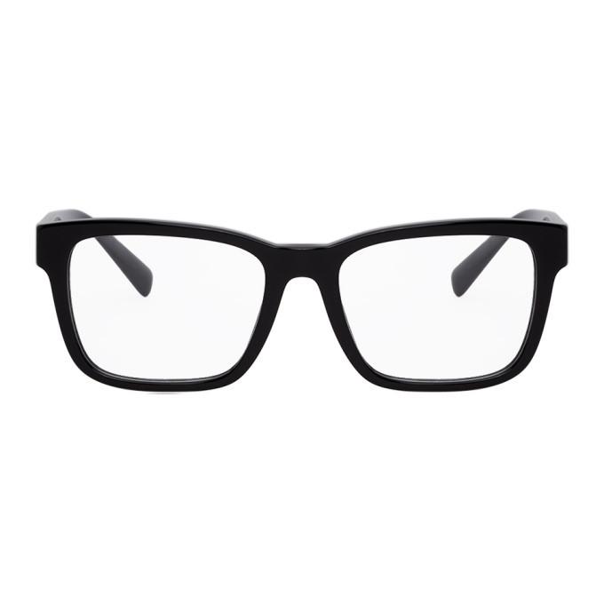Versace Black Square Glasses