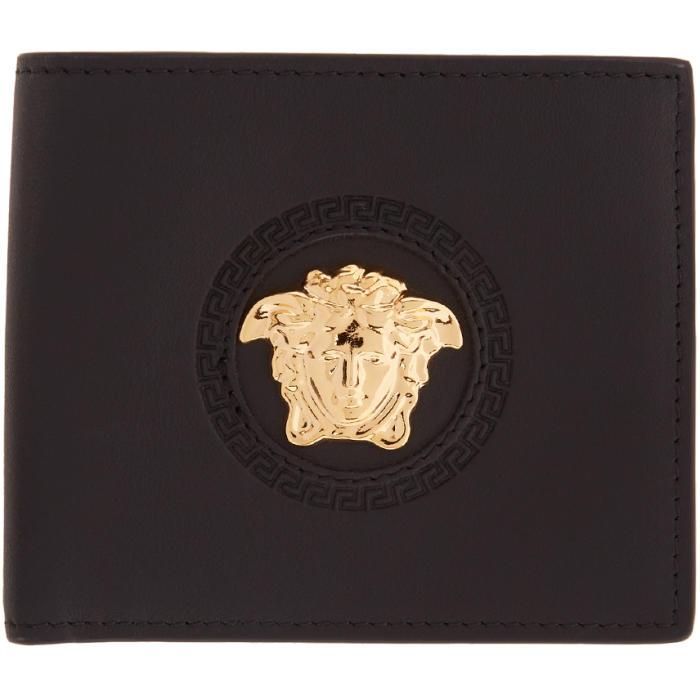 Photo: Versace Black Medusa Circle Wallet