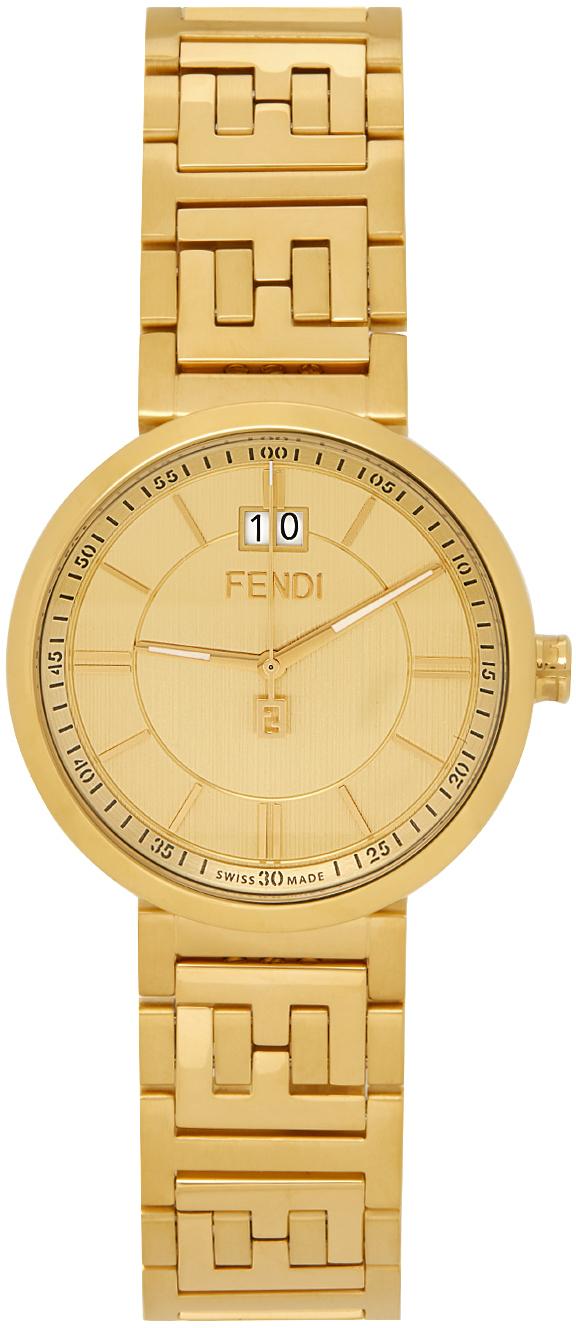 Photo: Fendi Gold Forever Fendi Watch