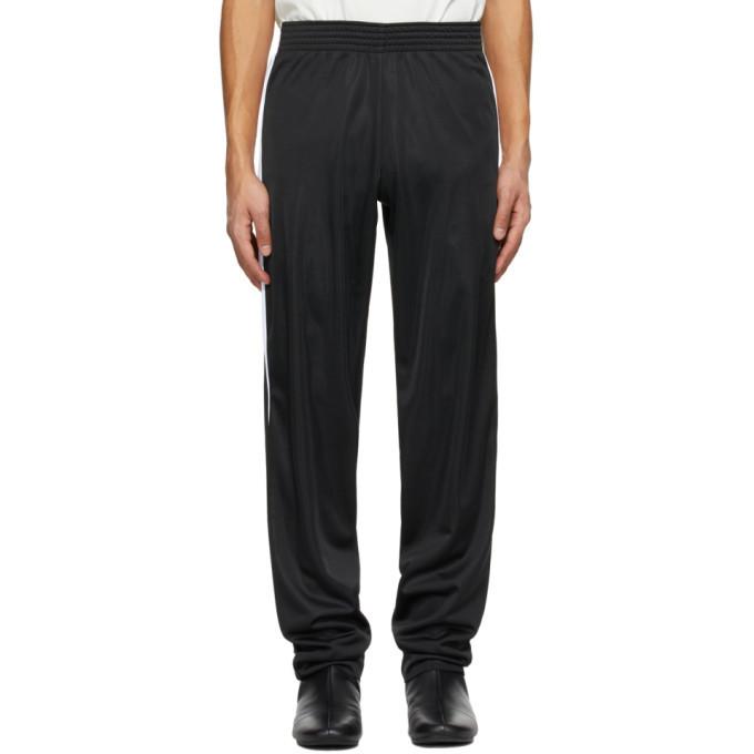 Raf Simons Black and White Stripe Track Pants