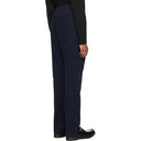 Sunspel Navy Corduroy Drawstring Trousers