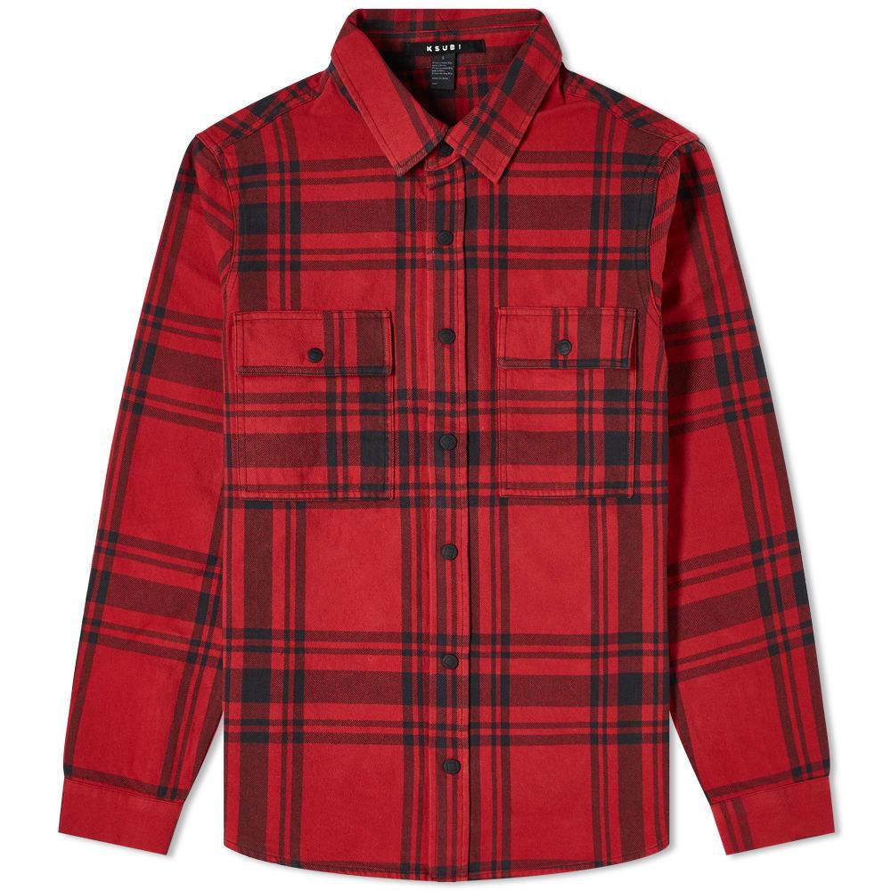 Ksubi Paradox Check Flannel Shirt