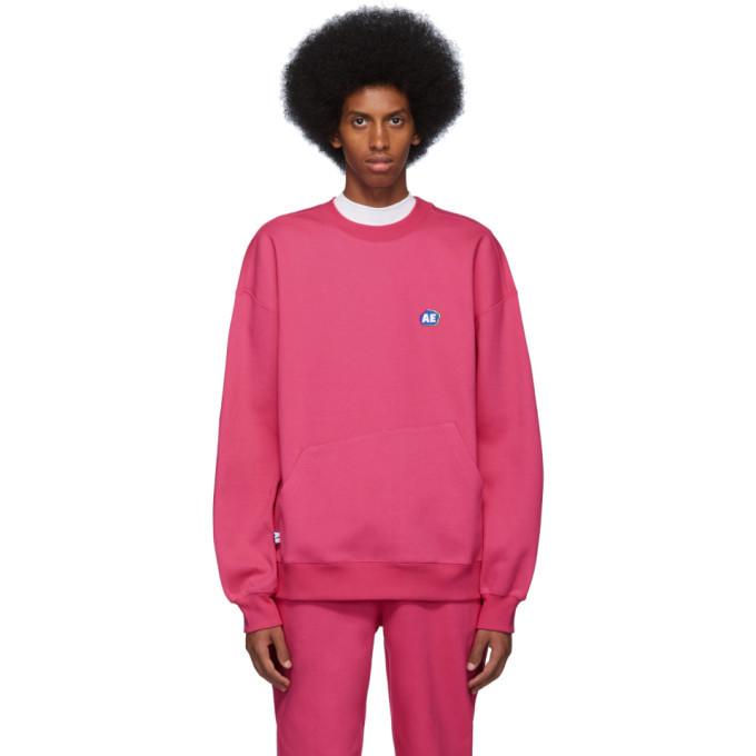 Photo: ADER error Pink Stone Logo Sweatshirt