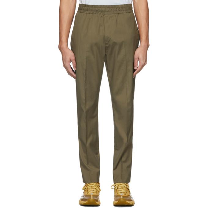 Photo: Acne Studios Khaki Cotton Ryder Trousers