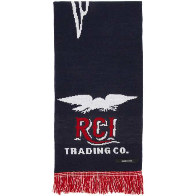 Photo: Reese Cooper Navy Eagle Scarf
