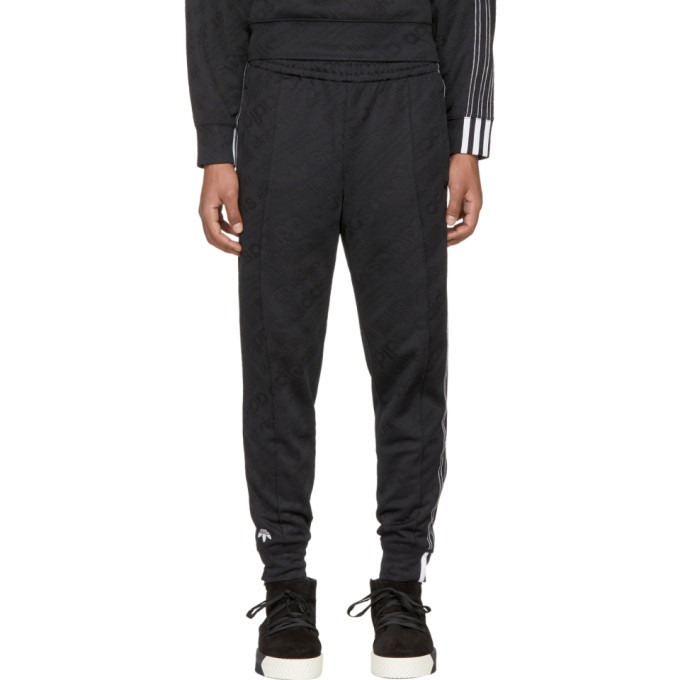Photo: adidas Originals by Alexander Wang Black AW Jacquard Track Pants