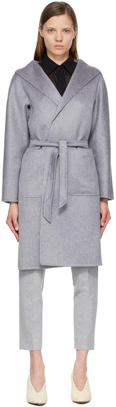 Photo: Max Mara Grey Lilia Coat