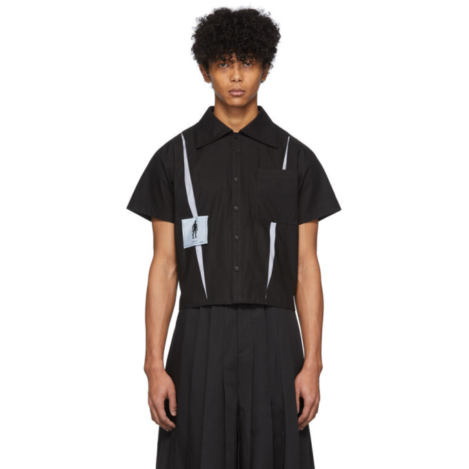 Photo: Keenkee Black Kindergarten Short Sleeve Shirt