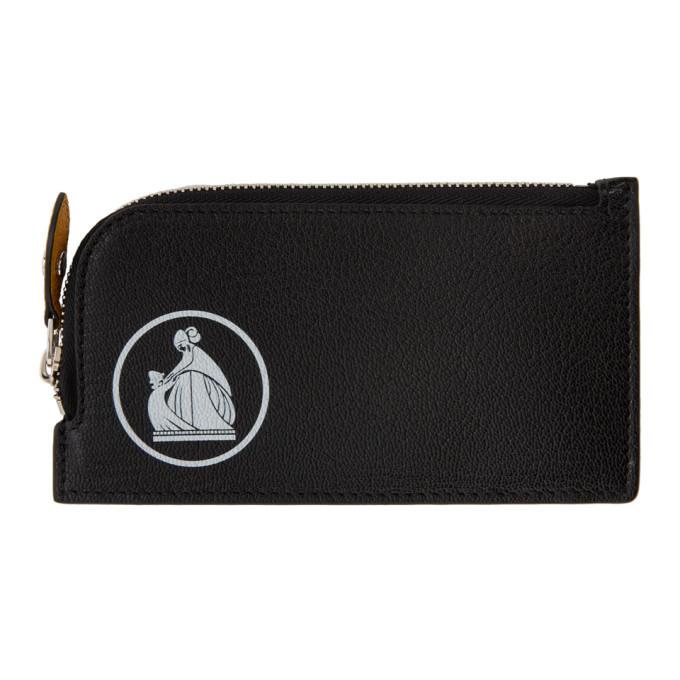 Photo: Lanvin Black Zipped Wallet