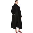 3.1 Phillip Lim Black Long Tailored Coat