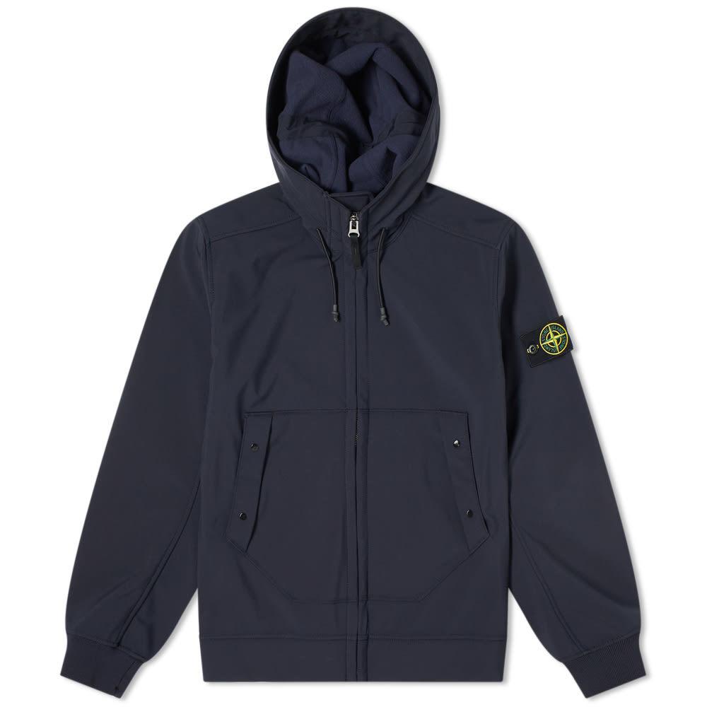 Photo: Stone Island Hooded Softshell Jacket