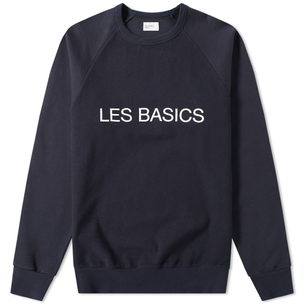 Photo: Les Basics Printed Crew Sweat