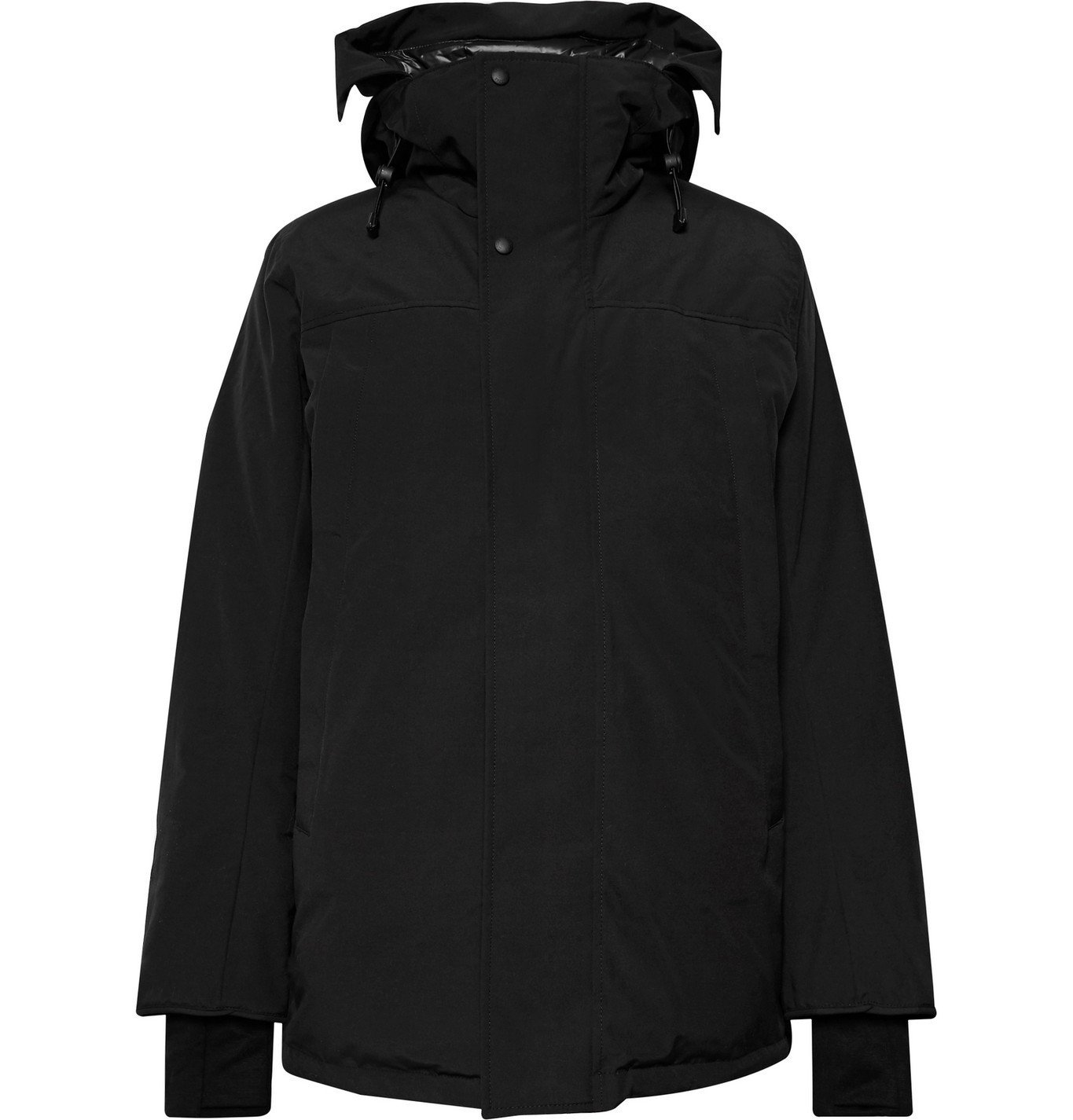 Photo: Canada Goose - Sanford Shell Hooded Down Parka - Black