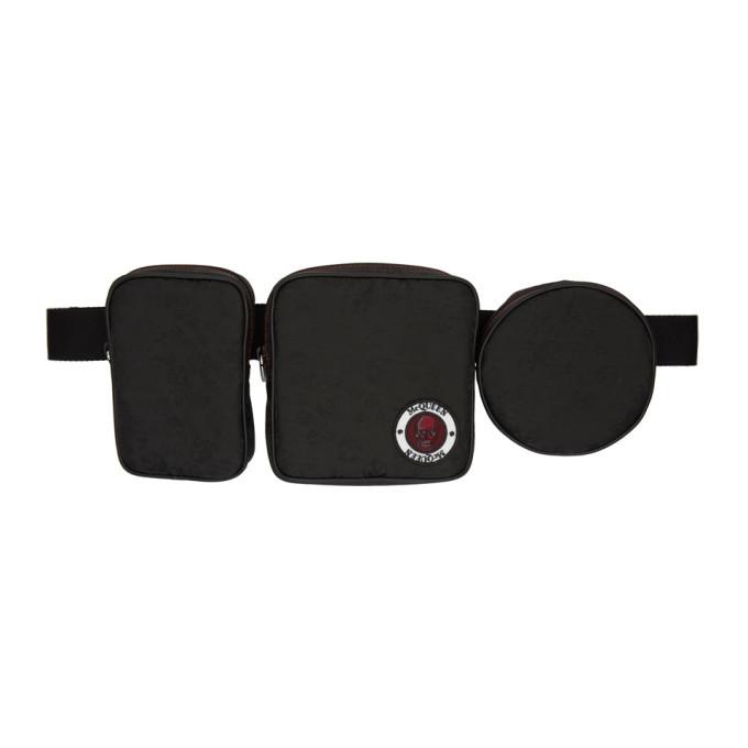 Photo: Alexander McQueen Black Multi-Pouch Belt Bag