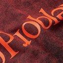 Aries - No Problemo Acid-Washed Loopback Cotton-Jersey Sweatshirt - Red