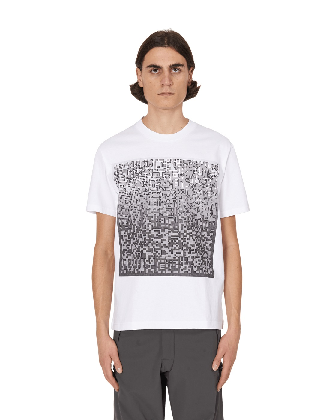 Photo: Cav Empt Pixelated Noise T Shirt White