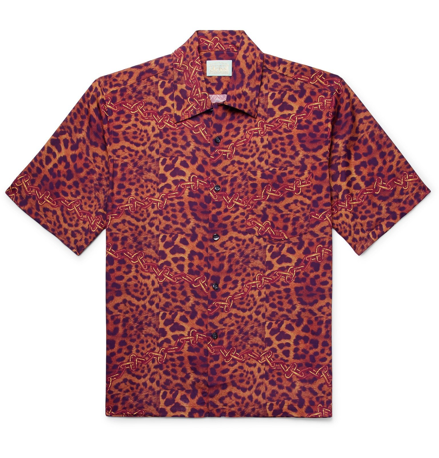 Aries - Printed Woven Shirt - Red