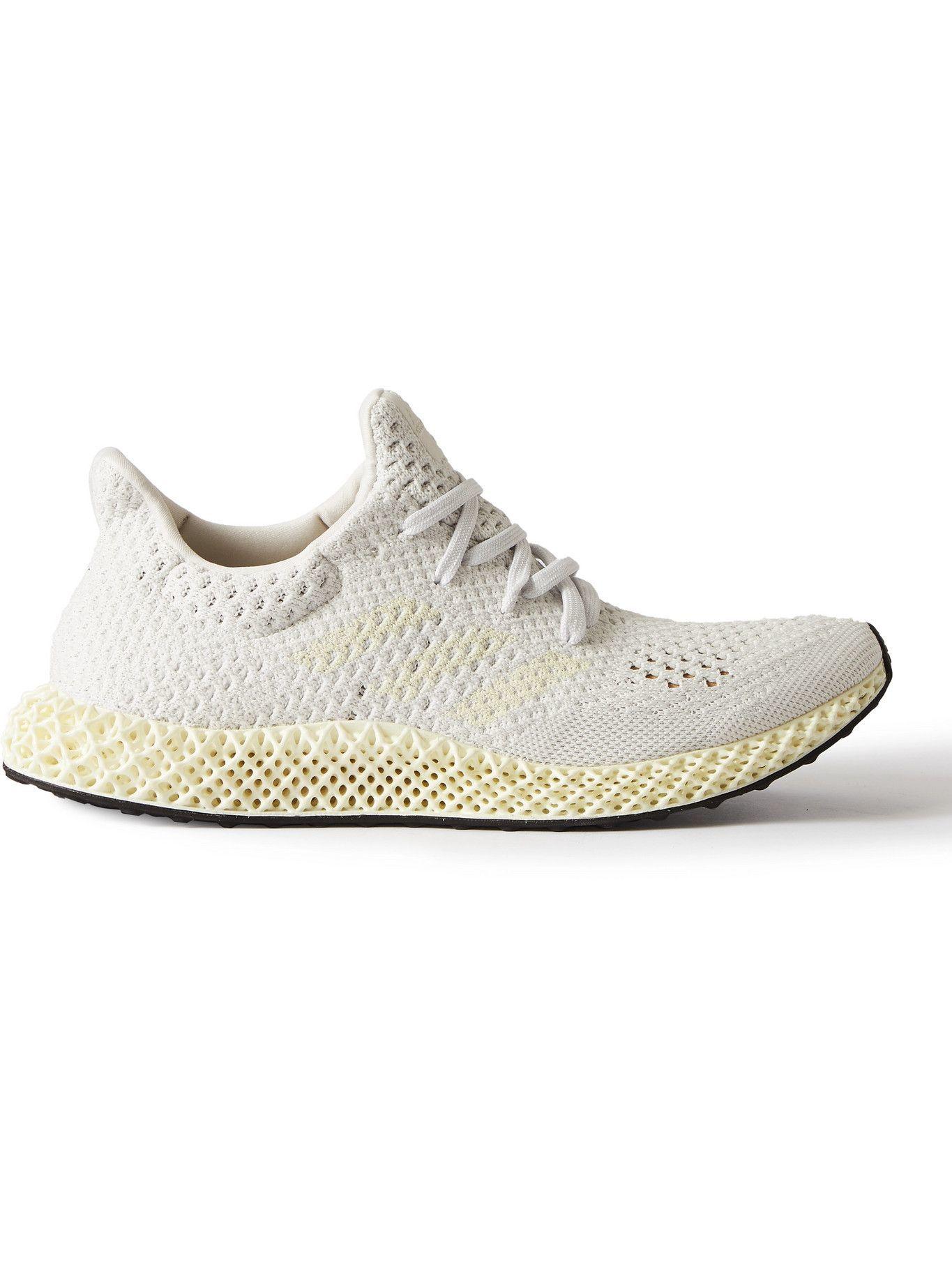 Photo: adidas Sport - 4D Futurecraft Primeknit Sneakers - Gray