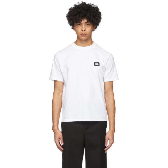 Botter White Embroidered B T-Shirt