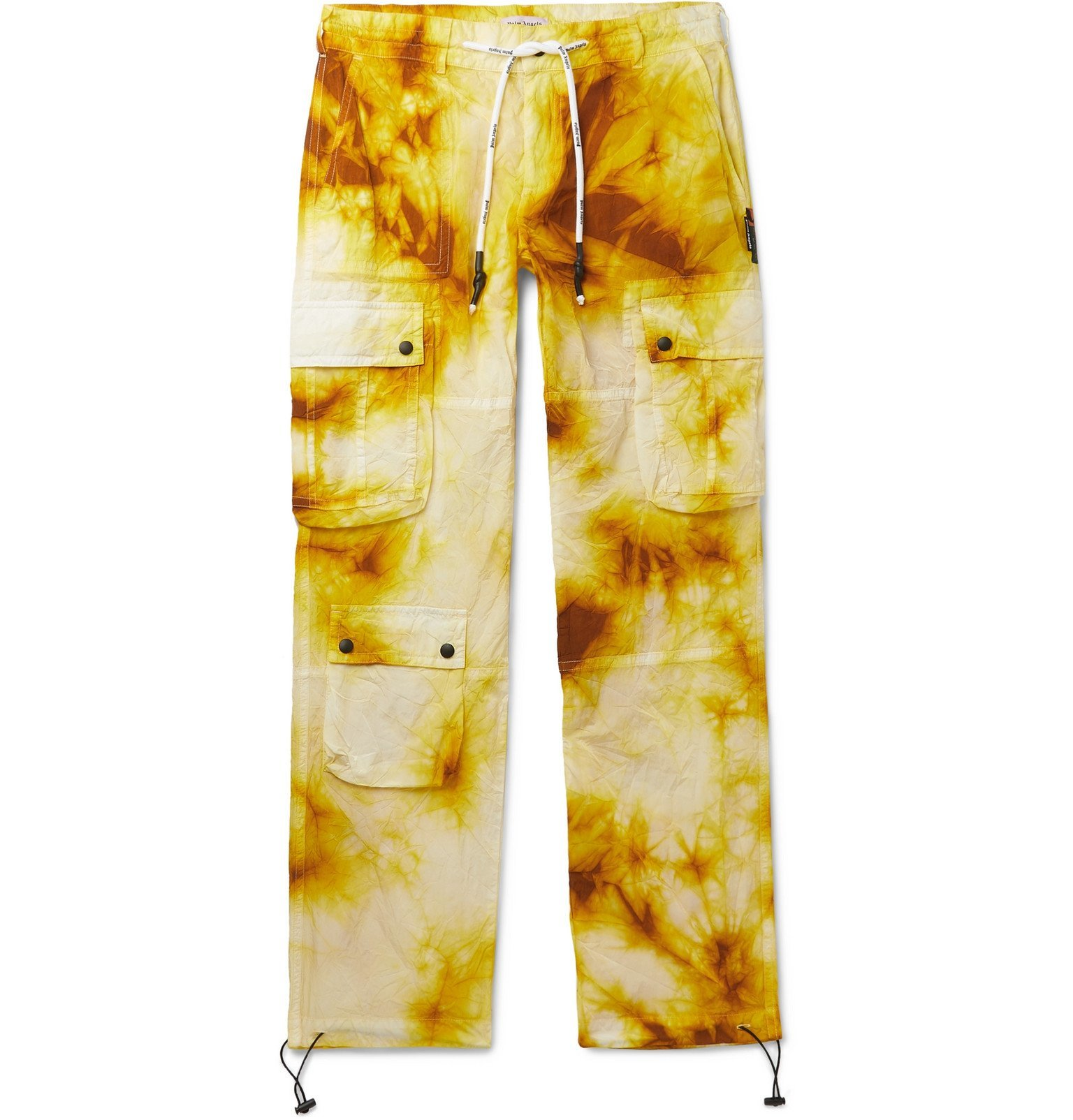 Photo: Palm Angels - Tie-Dye Shell Cargo Trousers - Brown