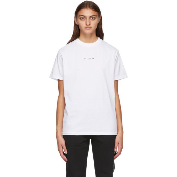 Photo: 1017 ALYX 9SM White Visual Logo T-Shirt