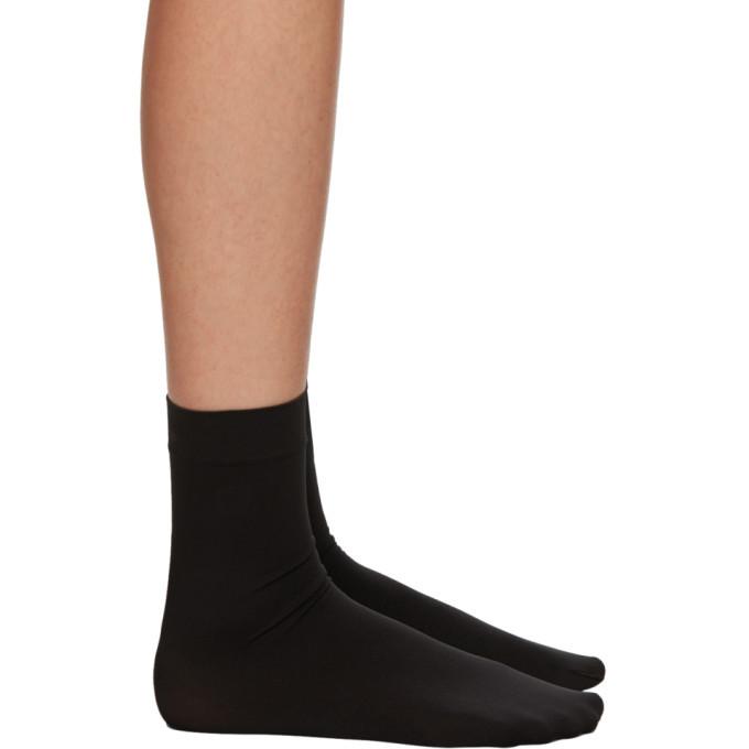 Photo: Wolford Black Aurora 70 Socks