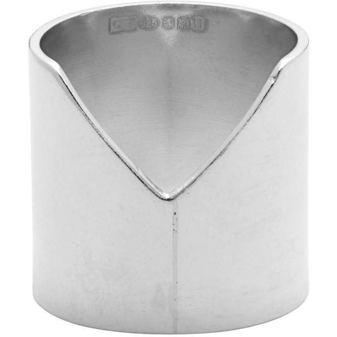 Photo: Chin Teo Silver Shield Ring
