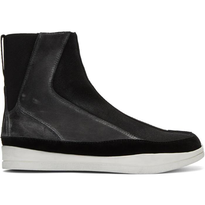 Photo: Abasi Rosborough Black Apollo Tabi Boots