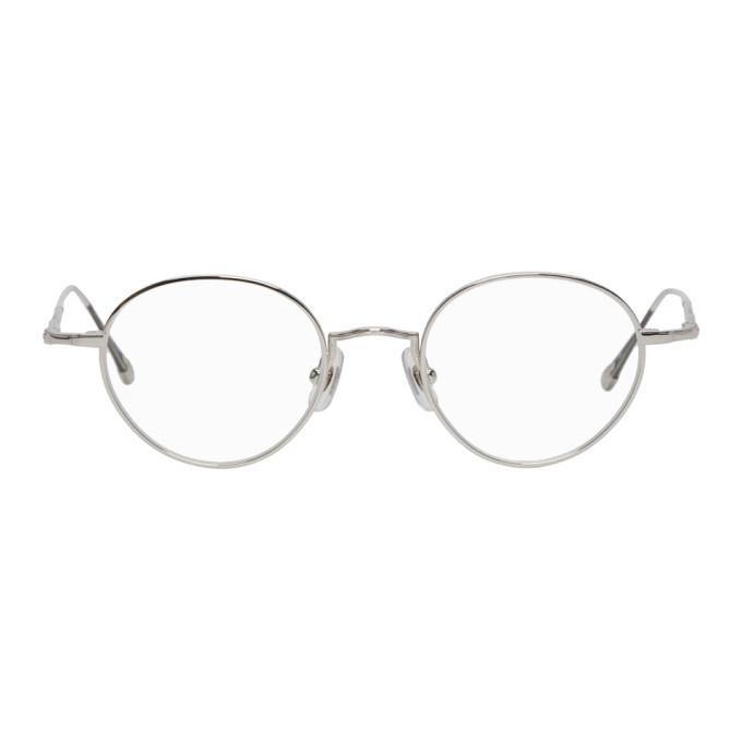 Photo: Matsuda Silver Titanium 10189H Glasses