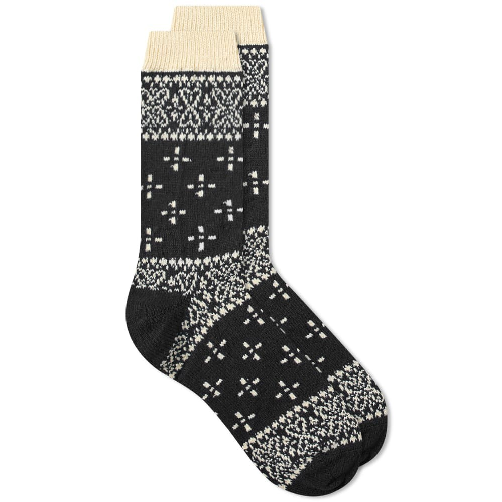 Photo: RoToTo Bandana Pattern Crew Socks