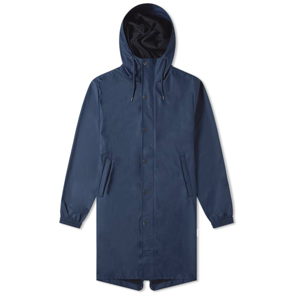 Photo: Rains Fishtail Parka Jacket Blue