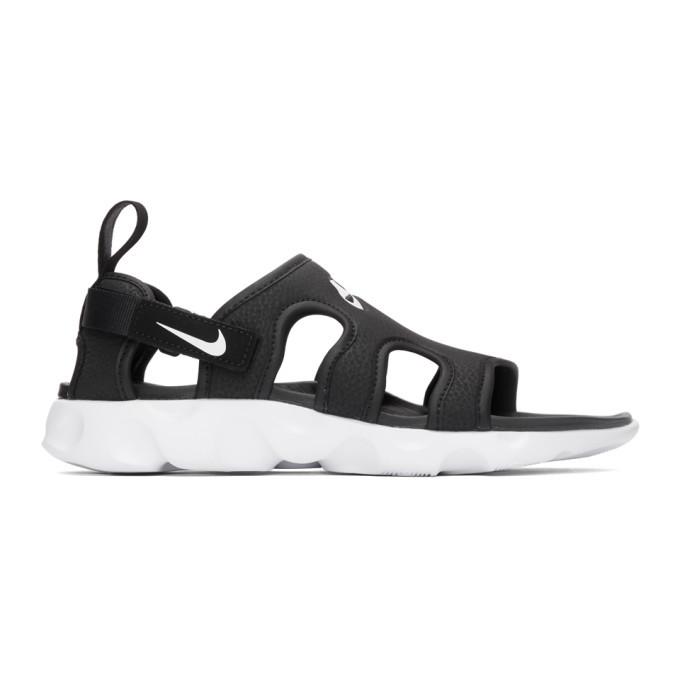 Photo: Nike Black and White Owaysis Sandals