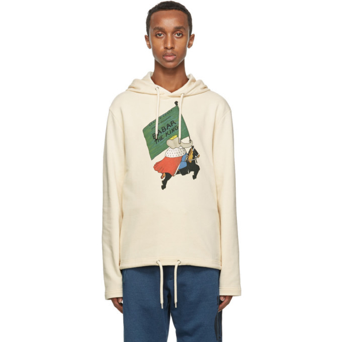 Photo: Lanvin Off-White Babar Edition Printed Hoodie