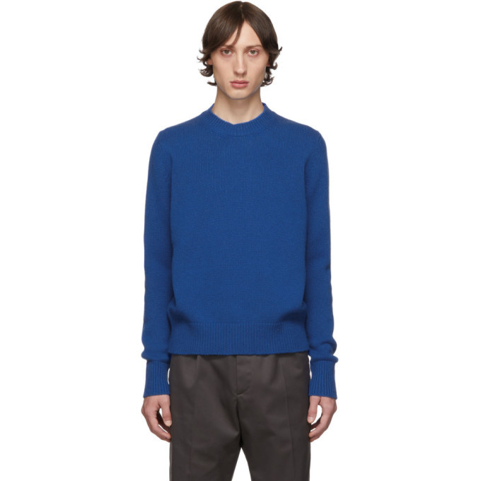 Photo: Studio Nicholson Blue Five Gauge Crewneck Sweater