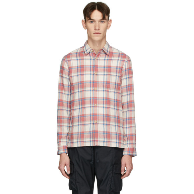 Photo: John Elliott White and Red Sly Shirt