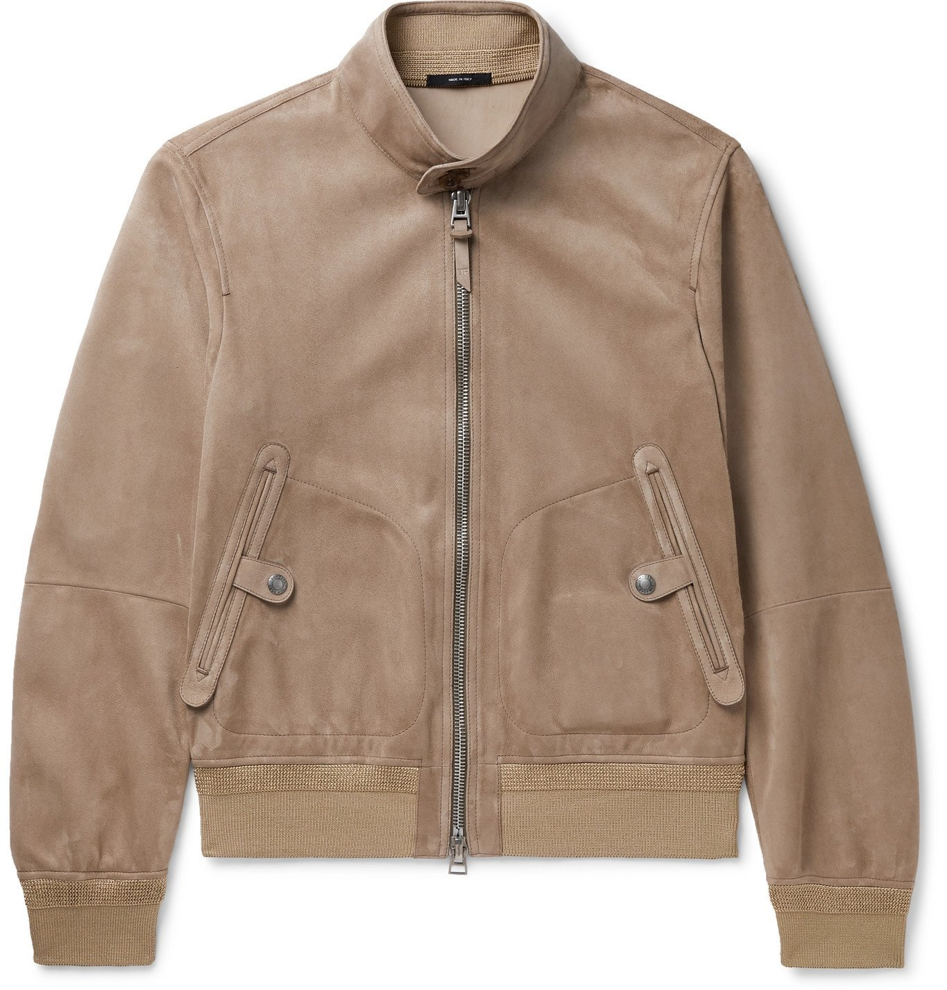 Photo: TOM FORD - Suede Bomber Jacket - Unknown