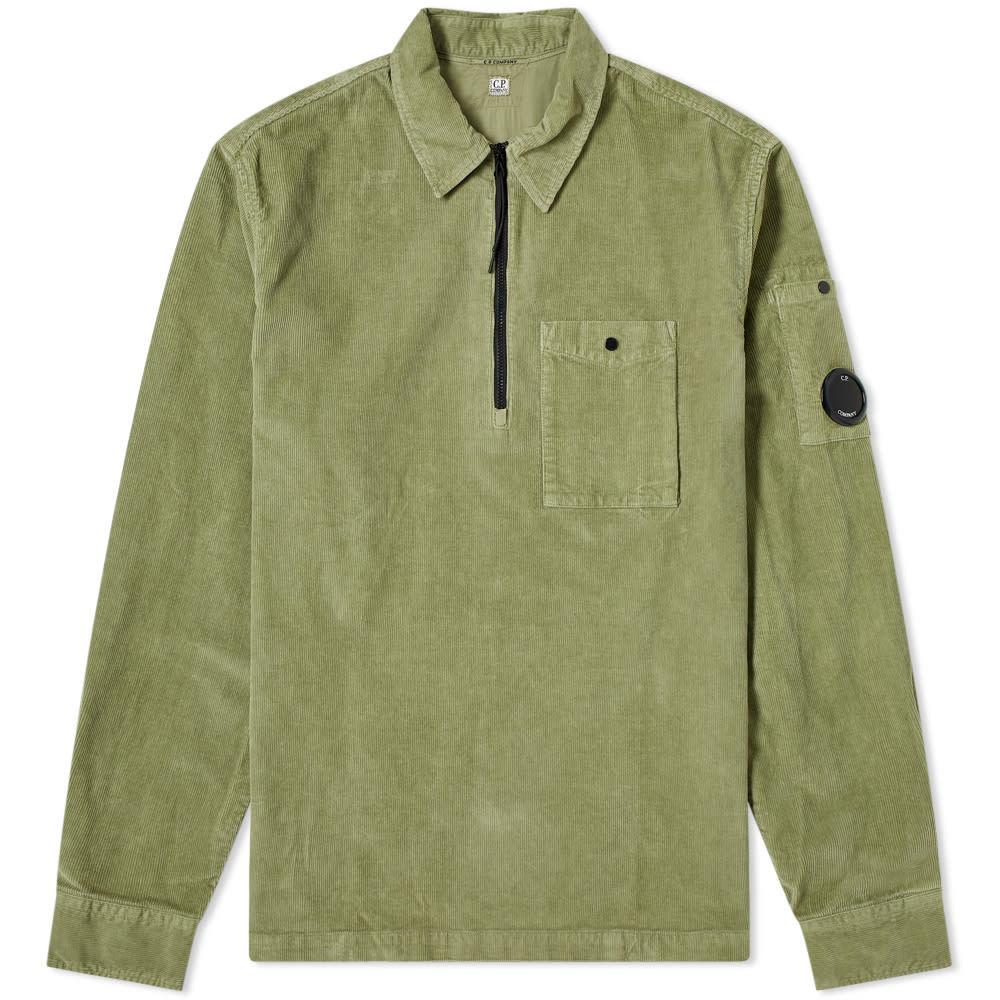 C.P. Company Cord Quarter Zip Overshirt