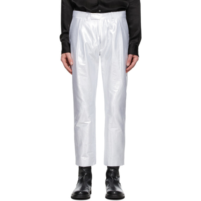 Photo: Ann Demeulemeester Silver Helm Trousers