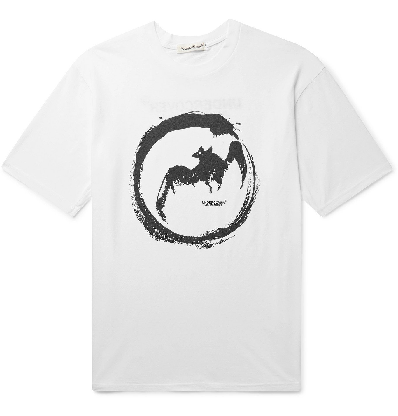 Photo: Undercover - Printed Cotton-Jersey T-Shirt - White